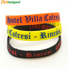 Custom funny european bracelet cool silicone wristbands for men