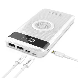 New design free sample 10000mah wireless charging receiver
