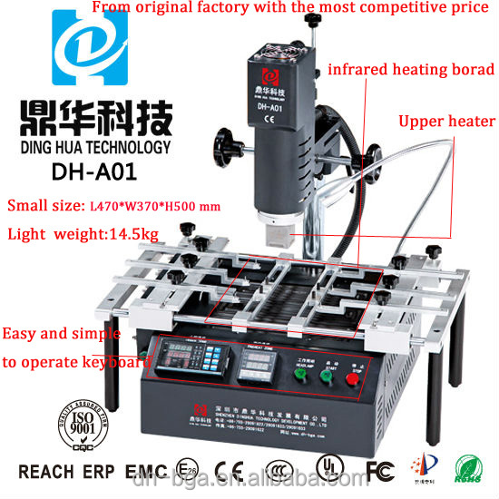 Dinghua tool iphone/ps3 repair/branding iron/atten soldering station/avio control board plc DH-A01