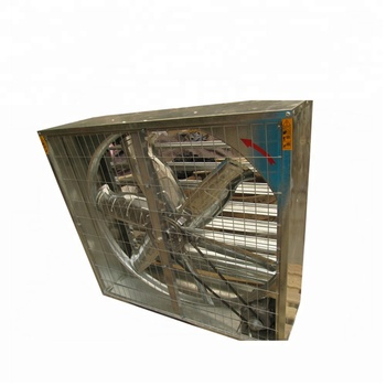 Cool Air Intake Hen House Ventilation Fans for Poultry Farm Chicken Feeding