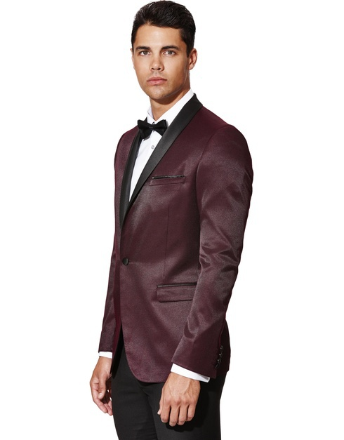 2015 Top Quality Professional Maroon Men Business Jacket Suit ...
