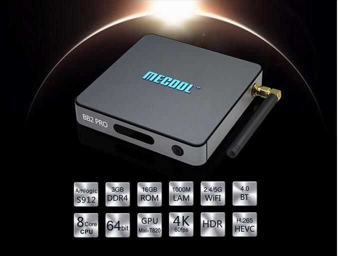 Soyeer 4k Android Tv Box Amlogic S912 Linux Openelec 2gb Ram 8gb Rom