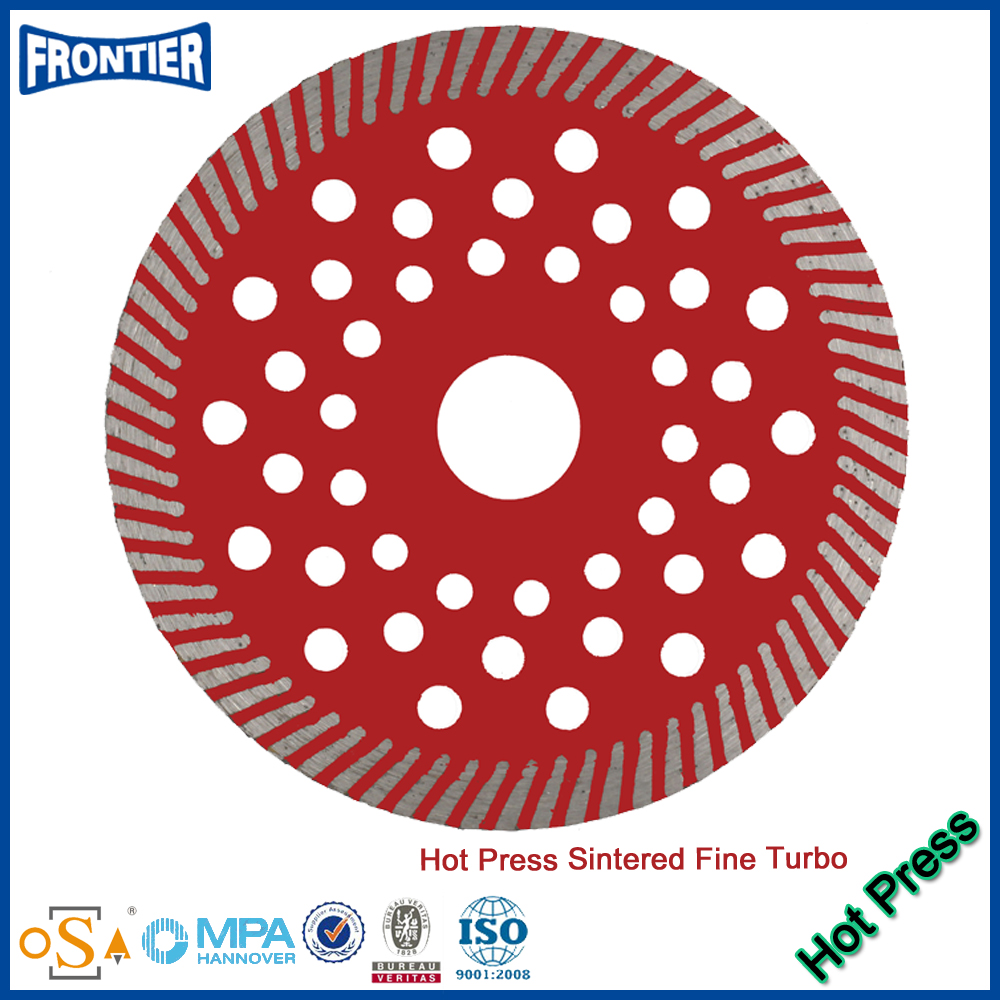 Alibaba china Reliable Quality turbo saw blade with reinforced center