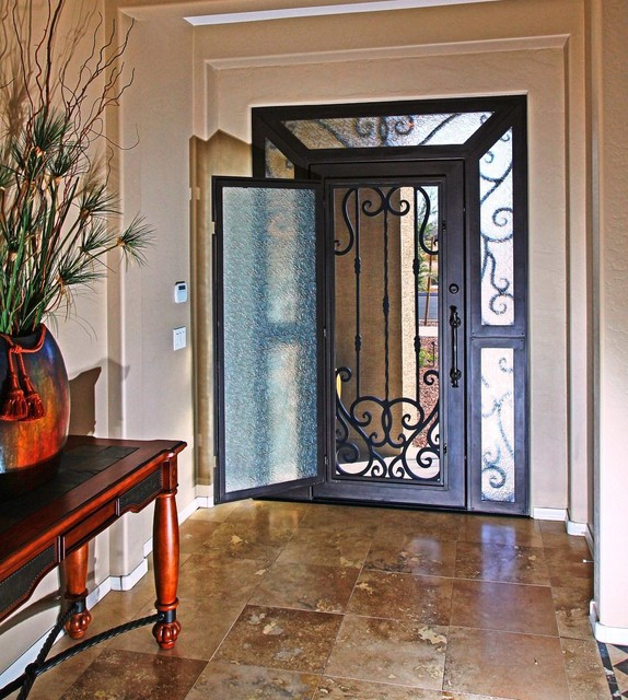 Gyd 15d0812 Best Price Used Wrought Iron Main Entrance
