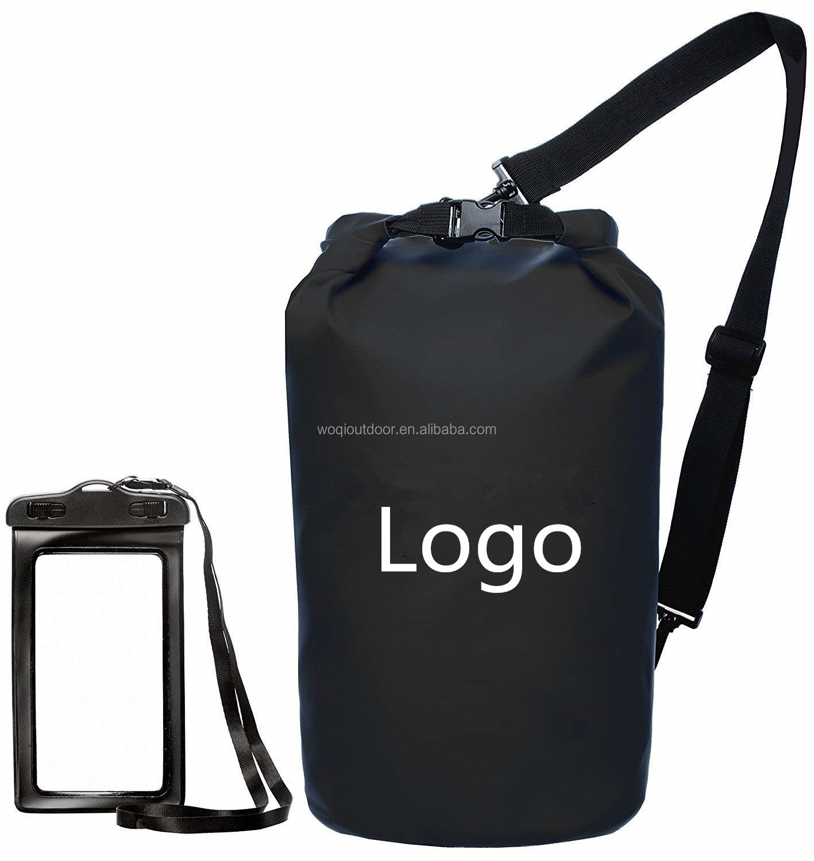 850b7b8ca9fd Woqi outdoor sports camping floating swimming PVC tarpaulin waterproof  backpack ocean pack dry bag