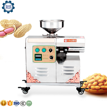 High Efficiency automatic home use oil presser / peanut, sesame, rapeseed, sunflower oil making machine