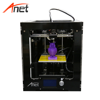 China factory supplier multi-function fdm prusa i3 aluminum professional 3d printer metal