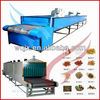 Automatic vegetables mesh belt dryer with low price