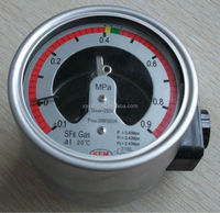 Stainless steel shell China SF6 Density (Pressure) Controller use to electrical equipment testing and control