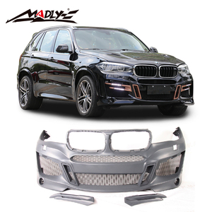 Madly PU material auto body kits for BMW X5 F15 body Kit LAS Style New 2014-2018 X5 F15 Auto body kit
