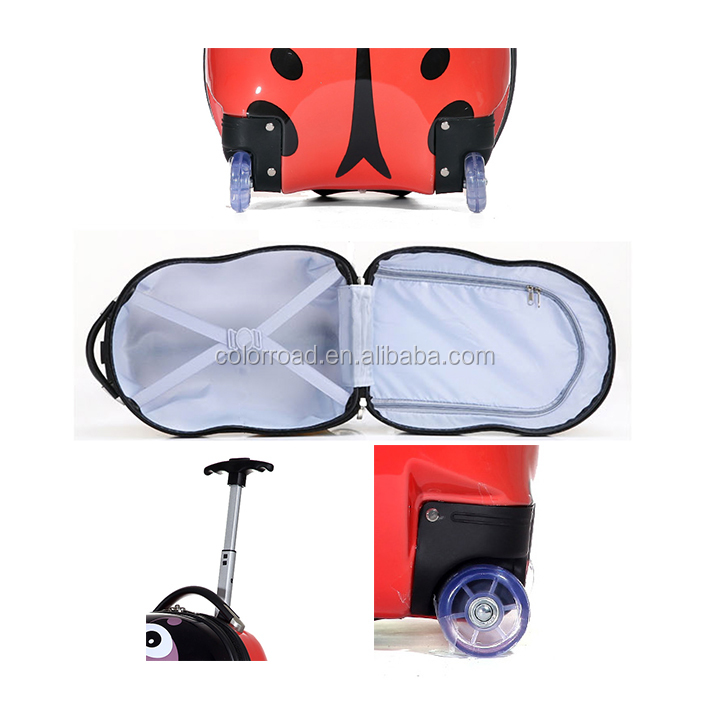Popular Sweet Desings 17inch Ladybug Children Rolling Cartoon ...