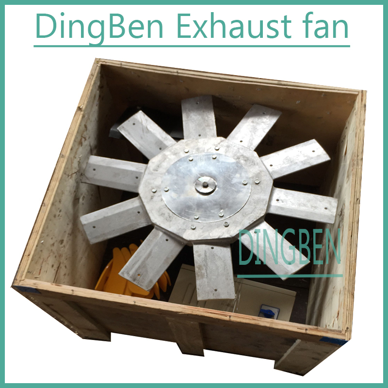Large ceiling fan /centifugal fan for car wash industries/motor metal blade ceiling fan