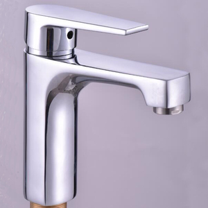 European Cold Hot Single Lever Chrome Polished Faucet Bathroom Wash Hand Basin Faucets new design basin faucet mixer water tap