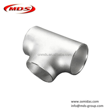 2 inch stainless steel pipe fitting lateral tee