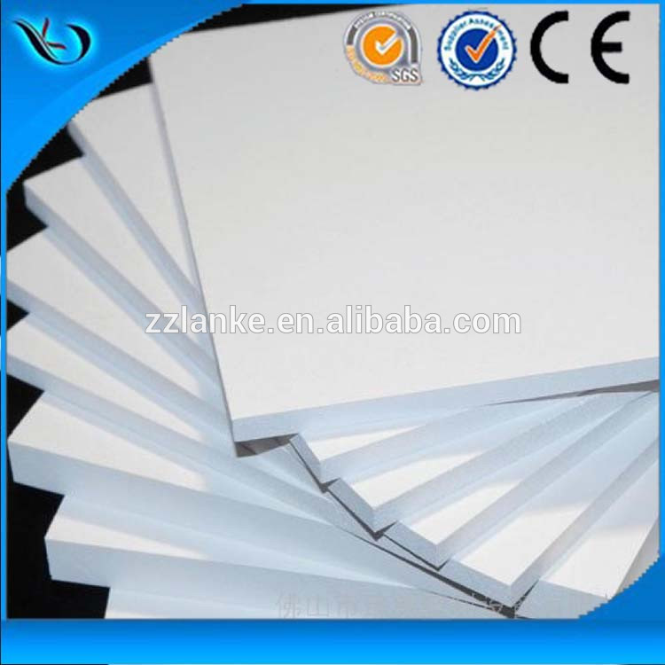 Lightweight House Build Polyurethane Sheet 18mm Pvc Board with low price