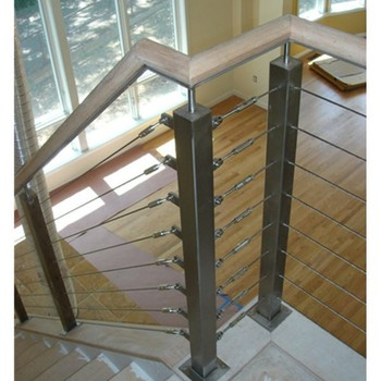 Shenzhen stainless steel interior cable railing hardware for stair buy cable railing hardware for Stainless steel railings interior