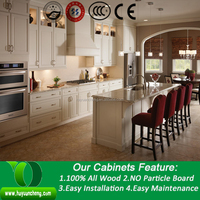 Enrich showroom hotsale red lacquer kitchen cabinet in stock