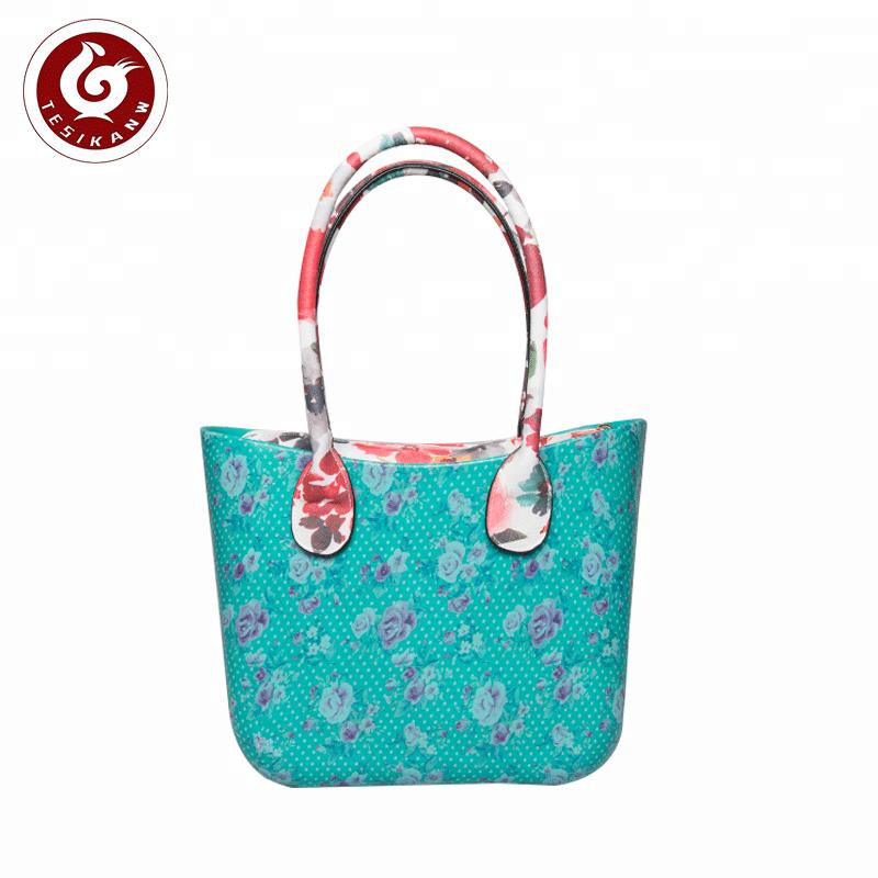 59a437dd5 Custom Superior quality wholesale custom printed o bag EVA floral handbags  eva foam bag