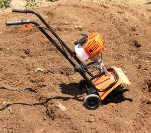 agricultural farm tools and equipment mini walking tiller with seeder