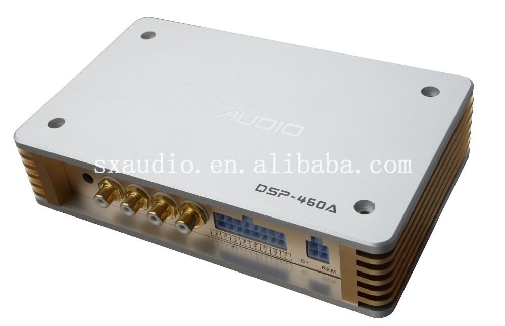Professional Built Car Digital Processor Dsp 460a 6ch Car Audio
