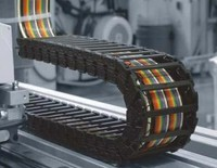 65 Series bridge type plastic cable drag chain