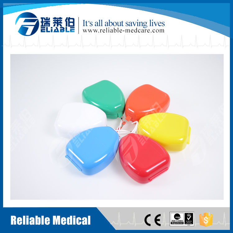 Reliable CPR One Way Valve Mask CE ISO FDA Approved