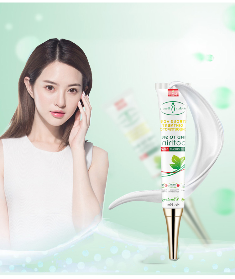 Factory Cheap Hot Best Natural Herbal Extract Hydrating Acne Scars Treatment Cream For Sensitive Skin Care