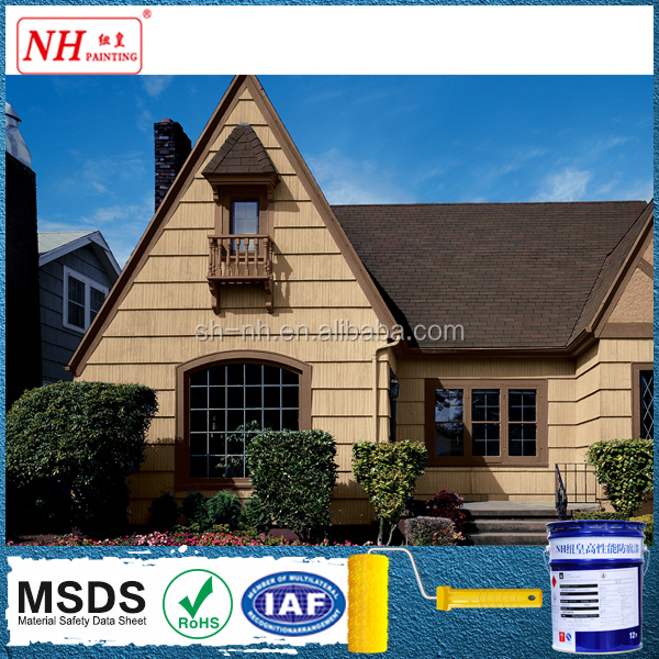 NH Hot Selling!Special Colored Intermediate exterior wall paint color chart