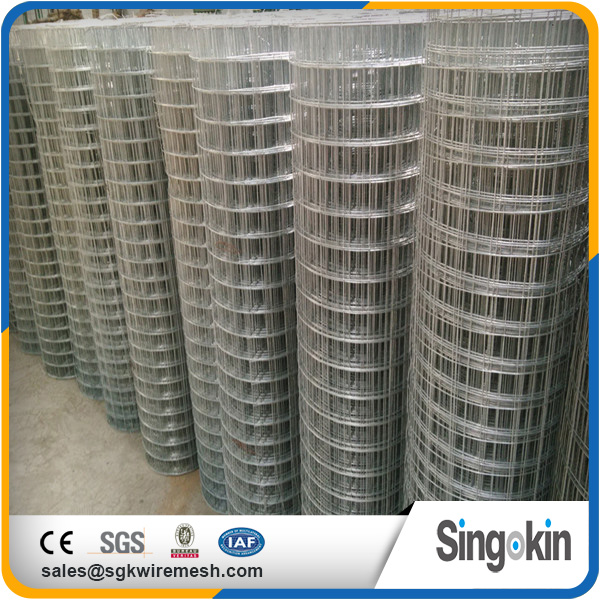 Construction green vinyl coated welded wire mesh for building