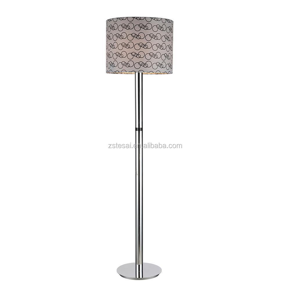 designer fashion b420d b9e5a Ml4062 High Quality Chrome Base Grey Shade Hotel Floor Lamps Modern Bedroom  Floor Standing Lights - Buy Floor Lamps Modern,Floor Standing ...