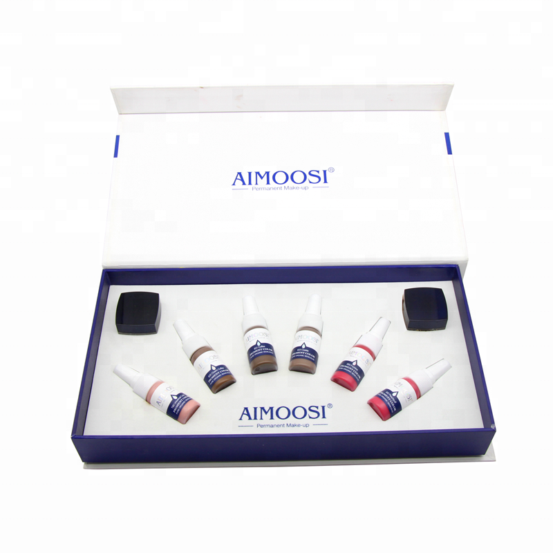 AIMOOSI High-End-Luxuskit Permanent Make-up Hochwertiges VIP Private Custom Tattoo-Set