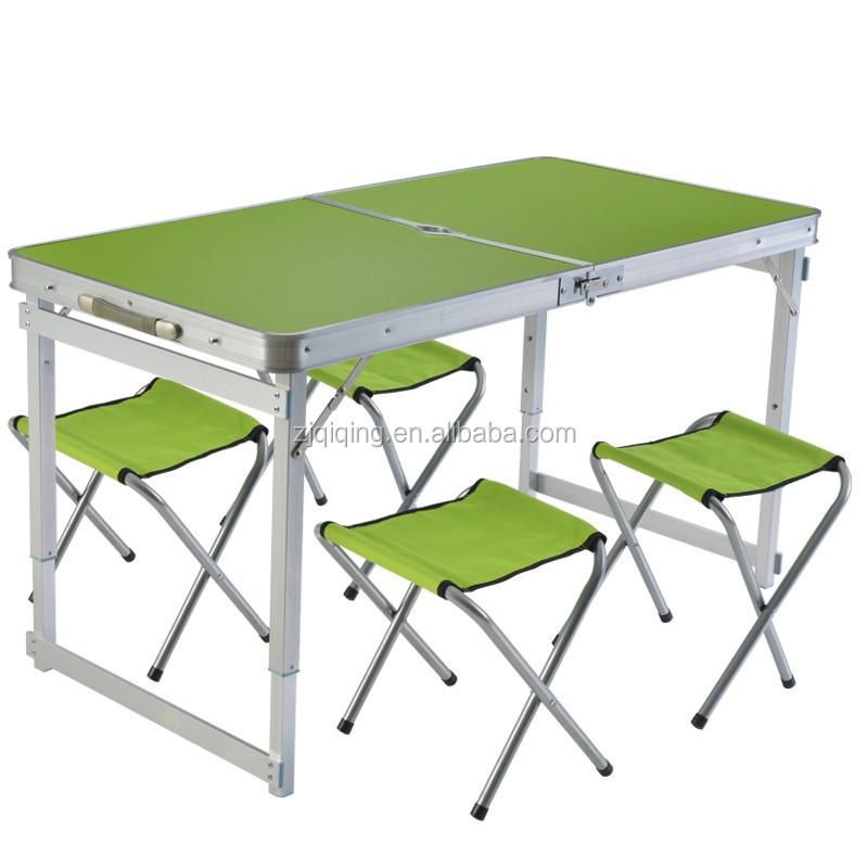 Nuevos productos de mesas plegables de aluminio de camping mesa jf 15 7 mesas plegables - Mesas camping plegables ...