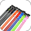 High Quality Colorful 100% Nylon Webbing Illuminated Medium Dog Collars