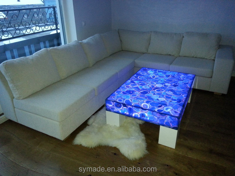 Gemstone Polished Agate Cigarette Marble For Agate Tables