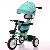3 Rubber Wheel Child Bike Trike Toy Foot Pedal Plastic Baby Children Stroller Tricycle For Kids With Push Handle And Umbrella