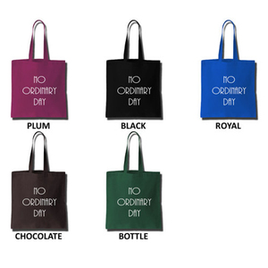 Custom LOGO Heavy Duty Cotton Canvas Tote Bag