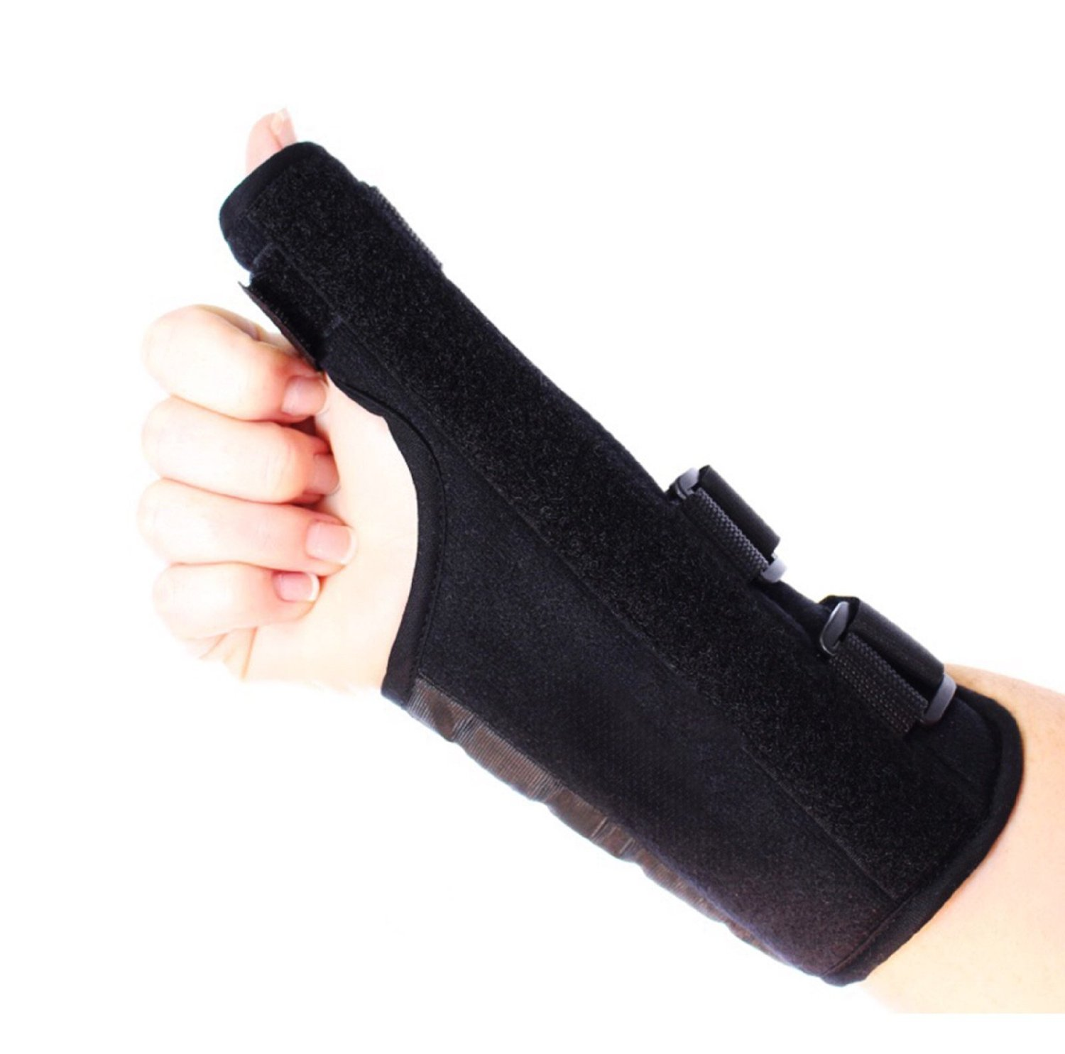Comfort Care Thumb Support Brace - Right Hand - Fitness - Rheumatoid Arthritis - Training - Health - Beauty - Men - Women - Hands - Treatment - Exercise - Joint - Wellness - Muscle - Hurt - Severe - Aching - Swollen - Painful - Personal - Sore - Remedies - Rheumatism - Finger - Aids - Relief -