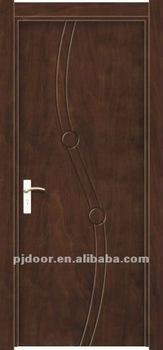 Simple design solid teak wood main door buy teak wood for Simple main door design