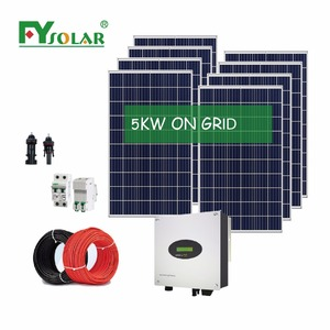 Solar Power 5KW System Home Generator Complete Equipment/used solar equipment for sale
