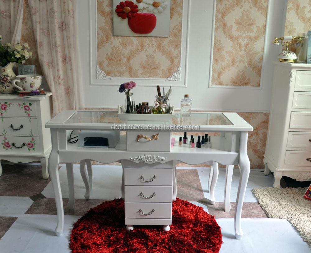 Doshower clavo antiguo mesa de uñas muebles de la barra para la ...