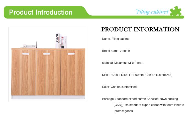 Buromobel 3 Turen Unterschrank Holz Mobel Buro Aktenschrank Buy