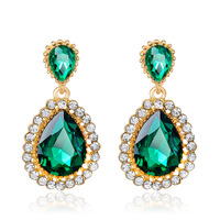 Fashion Crystal Avenue Earrings Wholesale NS800541