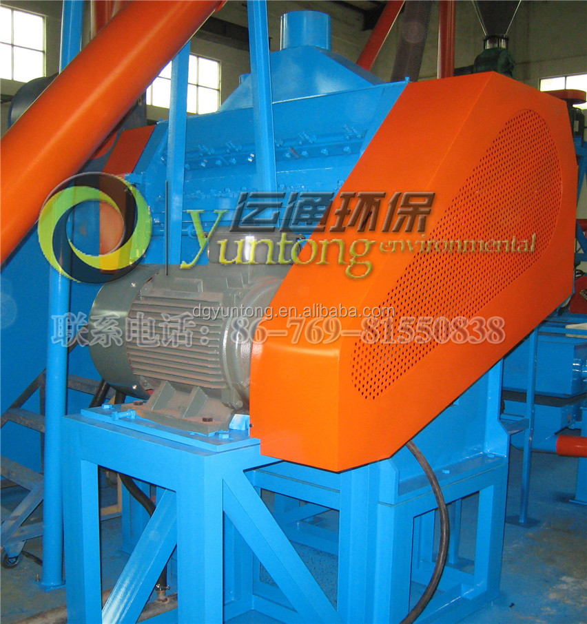 Hot Sale used tires recycling machine rubber crumb with CE and ISO