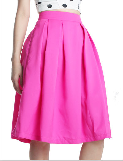 Get Lucky Midi Skirt (Hot Pink), View Get Lucky Midi Skirt (Hot ...