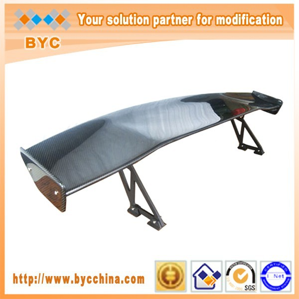 BYC Popular Carbon Fiber Rear Trunk Spoiler GT Wing with Large Demands