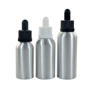 vape oil e-liquid 30ml 50ml 60ml aluminum dropper bottle with dropper