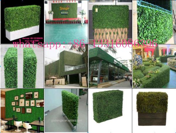 Siepi Da Giardino Finte : Cina siepi artificiali bosso per esterni uv siepi di bosso plastica