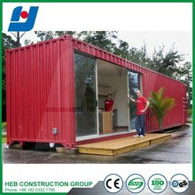Sandwich panel Rockwoll PES PU insulation high value container house
