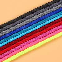 wholesale 0.6mm dia customized color decorative twisted rope