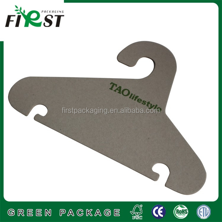 customize cheap paper shoe hook hangers/Eco- Friendly Recycled Colorful Cardboard paper Hanger/Ecological Paper Hanger